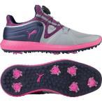 ショッピングプーマ シューズ プーマ シューズ レディース ゴルフ PUMA Women's IGNITE Blaze Sport DISC Golf Shoes PurplePink