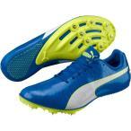ショッピングプーマ シューズ プーマ シューズ メンズ 陸上 PUMA Men's EvoSpeed Sprint 8 Track and Field Shoes BlueWhite