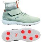 ショッピングプーマ シューズ プーマ シューズ メンズ ゴルフ PUMA IGNITE PWRADAPT Hi-Top Golf Shoes GreyWhite