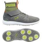 ショッピングプーマ シューズ プーマ シューズ メンズ ゴルフ PUMA IGNITE PWRADAPT Hi-Top Golf Shoes QuietShadeAcidLime
