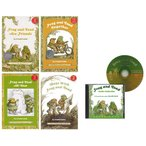 FROG AND TOAD HAPPY PACK (LEVEL 2) (絵本4冊+CDのセット)/洋書絵本