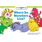 WHERE DO MONSTERS LIVE?/洋書絵本