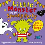 Little Monster And The Spooky Party/ハロウィンの子ども向けしかけ絵本/洋書