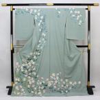 本加賀友禅 杉浦伸 作 「四季の花」 訪問着 hm1953