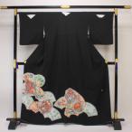 【お仕立て上がり】正絹胴裏 手縫い仕立て 黒留袖 pt1342