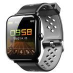 Yahoo!あすなろさん2019年新商品・IP68防水 スマートウォッチ 心拍計 血圧計 1.3インチ大字幕 スマートブレスレット 活動量計 歩数計 GPS スポー