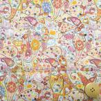 [ハローキティ×リバティアートファブリック]ローン生地<Mark Hello Kitty>DC27907-12B[リバティ|生地]
