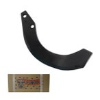 NIPLO/ニプロ ロータリー用 耕うん爪 フランジタイプ 汎用G爪 36本セット 51-04AG