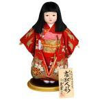 雛人形 久月 ひな人形 雛 市松人形 豊珠作 正絹友禅 本結び帯 h023-k-k1386g-27a K-117