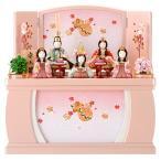 限定品 雛人形 一秀 ひな人形 雛 木目込人形飾り コンパクト収納飾り 五人飾り 安土雛 h283-miik-111