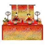 雛人形 リュウコドウ ひな人形 雛 コンパクト収納飾り 親王飾り 友禅雛 h283-rk-1-0718