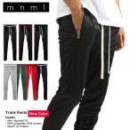 mnml ミニマル TRACK PANTS 17ML-AW271P メンズ レディース 夏秋冬 トラックパンツ ブラック レッド ネイビー S M L XL