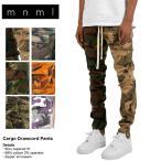 mnml ミニマル カーゴパンツ パンツ メンズ ブランド 大きいサイズ CARGO DRAWCORD PANTS CAMO
