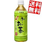 送料無料 伊藤園 お〜いお茶 緑茶自販機用 500mlペットボトル 24本入 (おーいお茶)