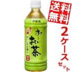 送料無料 伊藤園 お〜いお茶 緑茶自販機用 500mlペットボトル 48本 (24本×2ケース)(おーいお茶)