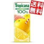 『送料無料』 キリン トロピカーナ100% グレープフルーツ 250ml紙パック 24本入