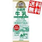 『送料無料』小岩井乳業 小岩井 牛乳 200ml紙パック 24本入 (常温保存可能)