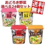 『送料無料』アサヒフード おどろき野菜 選べる24個セット (6個×4ケース)