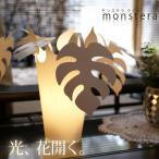 スタンドライト モンステラプランツ デザイン照明 北欧 ミッドセンチュリー カフェ
