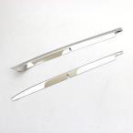 ショッピングBOX 新型 NBOX N-BOX カスタム フロント バンパーガーニッシュ バンパーグリル ガーニッシュ バンパートリム 2P メッキパーツ JF3/JF4 外装パーツ