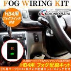 ダイハツ トヨタ 汎用 HB4 フォグランプ用 スイッチ配線キット 電源ボタン フォグスイッチ デイライト