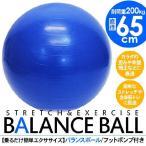 バランスボール ヨガボール 65cm 姿勢矯正 健康器具 フィットネス エクササイズ等