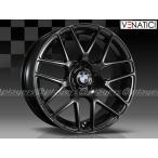 BMW 3シリーズ F30/F31 新品 ヴェナティッチ C-72M 19インチ タイヤホイール 225/40R19 BLK 1台分 純正キャップ付き