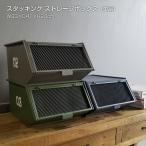 収納 北欧 おしゃれ DIY 収納ボックス トレーボックス 仕分け 積み重ね可能 小物入れ コンテナ AZSP スタッキングトレーボックス単品 W33×D41×H20cm