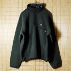 SIERRA DESIGNSシェラデザイン USA製古着 ダークグリーン プルオーバーフリースジャケット メンズS
