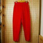 【RUSSELL ATHLETIC】USA(アメリカ)製古着レッド(赤)スウェットパンツ|サイズM|je-p-2