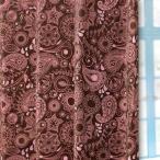 ショッピングアジアンテイスト ペイズリー柄アジアンテイスト遮光カーテン【グレース】(2枚組)《既製サイズ》