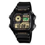 CASIO カシオ メンズ レディース 腕時計 デジタル ブラック チープカシオ AE1200WH-1BV