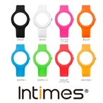 IT092専用 シリコン 替えベルト INTIMES インタイムス 腕時計 メール便 送料無料 選べる8色