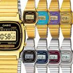 チープカシオ CASIO カシオ チプカシ アンティーク レトロ ゴールド シルバー レディース 腕時計 LA670 LA670WGA LA670WA