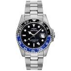 テクノス 腕時計 メンズ TECHNOS 限定モデル GMT ダイバーウォッチ スイスRONDA社製ムーブ搭載 200m防水 逆回転防止ベゼル T2134NB