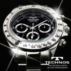 テクノス 腕時計 メンズ TECHNOS 限定モデル クロノグラフ T4102SH