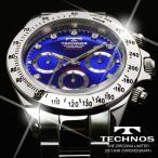 テクノス 腕時計 メンズ TECHNOS 限定モデル クロノグラフ T4102SN