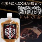 新潟のおつまみ味噌 健次の晩酌味噌「コク旨にんにく生姜」150g×2送料無料