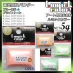 LumickColor 蓄光顔料パウダー ブライトトーン単品 5g コーラルピンク オレンジ ライトグリーン グリーン