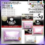 LumickColor 蓄光顔料パウダー ブライトトーン単品 5g パープル ピンク ローズピンク ホワイト