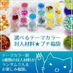 選べるテーマカラー封入材料プチ福袋 レジンパーツ レジン セット