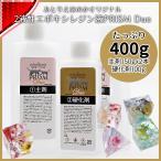 2液性レジン液 オリジナル エポキシレジン PRISM Duo 400g 安い 高品質 大容量
