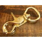 レバー ナスカン LL ゴールド 金 23mm レザー ベルト 革 2.3cm フック カスタム キーホルダー ウォレットロープ レザークラフトに