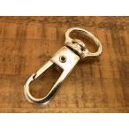 Yahoo!アトリエYOUオリジンナスカン 12mm ニッケル 銀 レザー 金具 1.2cm ワンタッチ フック バッグ ハンドル パーツ ベルト 革 カスタム レザークラフトに