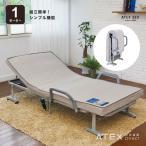 収納式 電動リクライニング 折りたたみベッド AX-BE556 (送料無料!)
