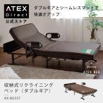 収納式リクライニングベッド(ダブルギア) AX-BG557 (送料無料!)