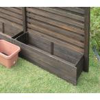 プランターカバー 木製 ボーダーフェンス 対応 菜園プランターカバー 幅127cm 家庭菜園 コンテナ カバー