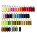 当日発送 Athena(アテナ) ポリエステルミシン糸 万能ミシン糸 強力 手縫い 40番手 400m巻 63色 常用色糸  堅牢度最高級レベル5 どうなミシンにも使い易い
