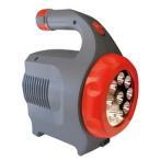 非常用電源 太陽光 [強力LEDサーチライト付きポータブルバッテリー LED ガードマン] 保証付