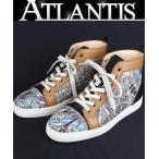 Christian louboutin 銀座 クリスチャン・ルブタン メンズ スニーカー ルイス ハイカット 靴 size41